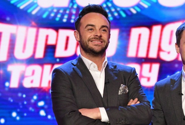 Editorial Use Only. No merchandising Mandatory Credit: Photo by Kieron McCarron/REX/Shutterstock (9469464as) Anthony McPartlin and Declan Donnelly 'Ant & Dec's Saturday Night Takeaway' TV Show, Series 15, Episode 4, London, UK - 17 Mar 2018