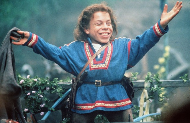 No Merchandising. Editorial Use Only. No Book Cover Usage. Mandatory Credit: Photo by Lucasfilm/Kobal/REX/Shutterstock (5881876j) Warwick Davis Willow - 1988 Director: Ron Howard Lucasfilm Scene Still