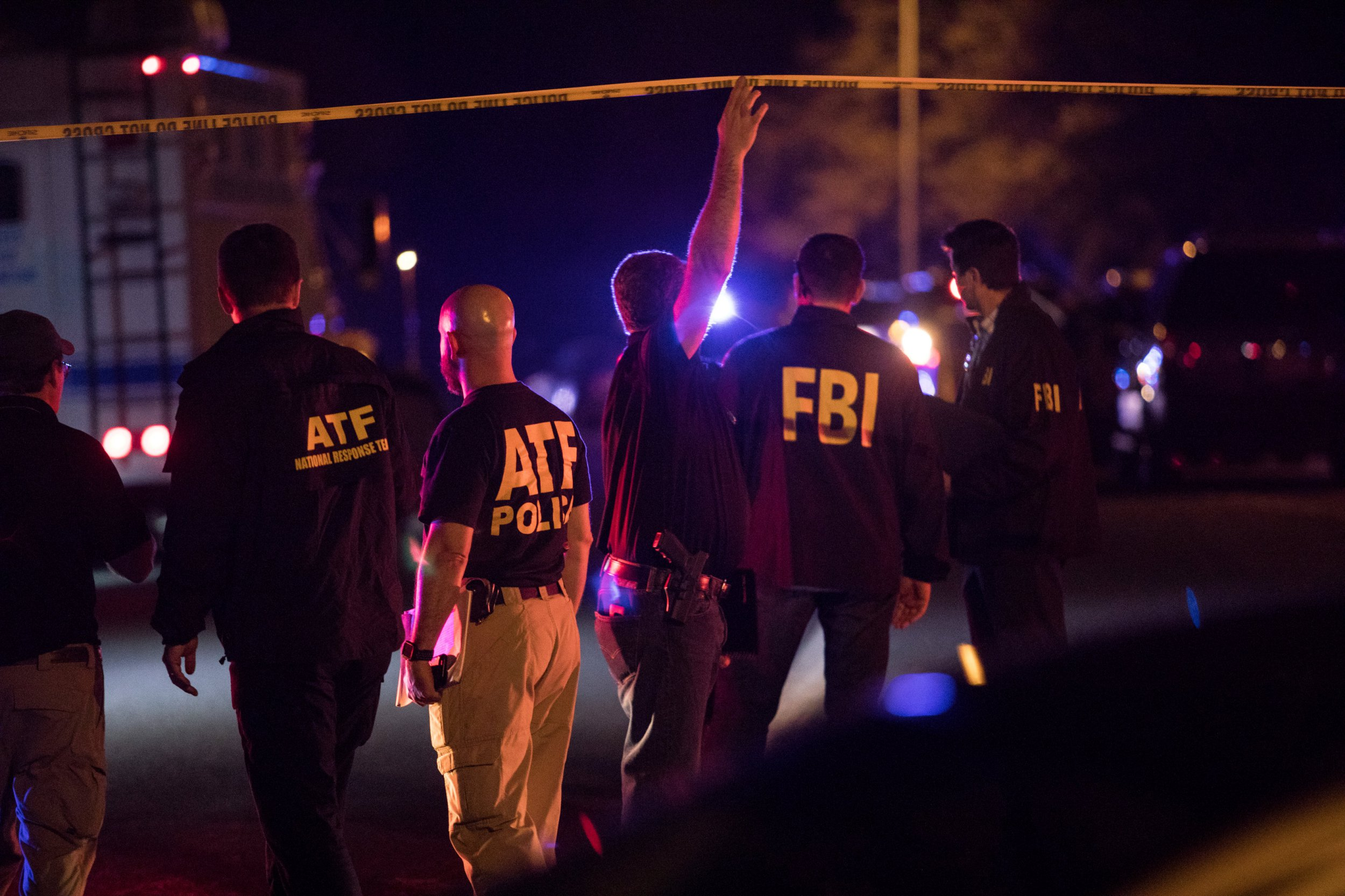 Police maintain a cordon near the site of an incident reported as an explosion in southwest Austin, Texas, U.S. March 18, 2018. REUTERS/Tamir Kalifa