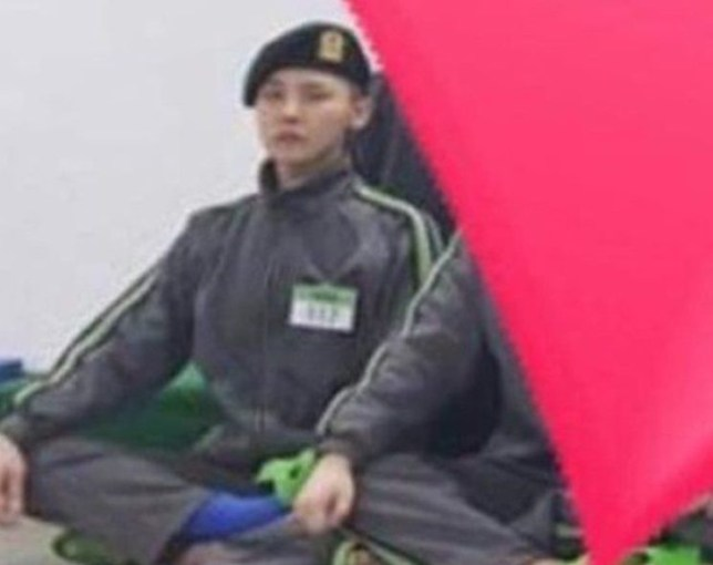 The current status of G Dragon, who joined the 27th of last month, was released. On the 19th, in the online community, a photo of Gee Dragon (Gwon Ji Yong), the leader of Boy Group Big Bang in the military life, was released. **NO CREDIT**