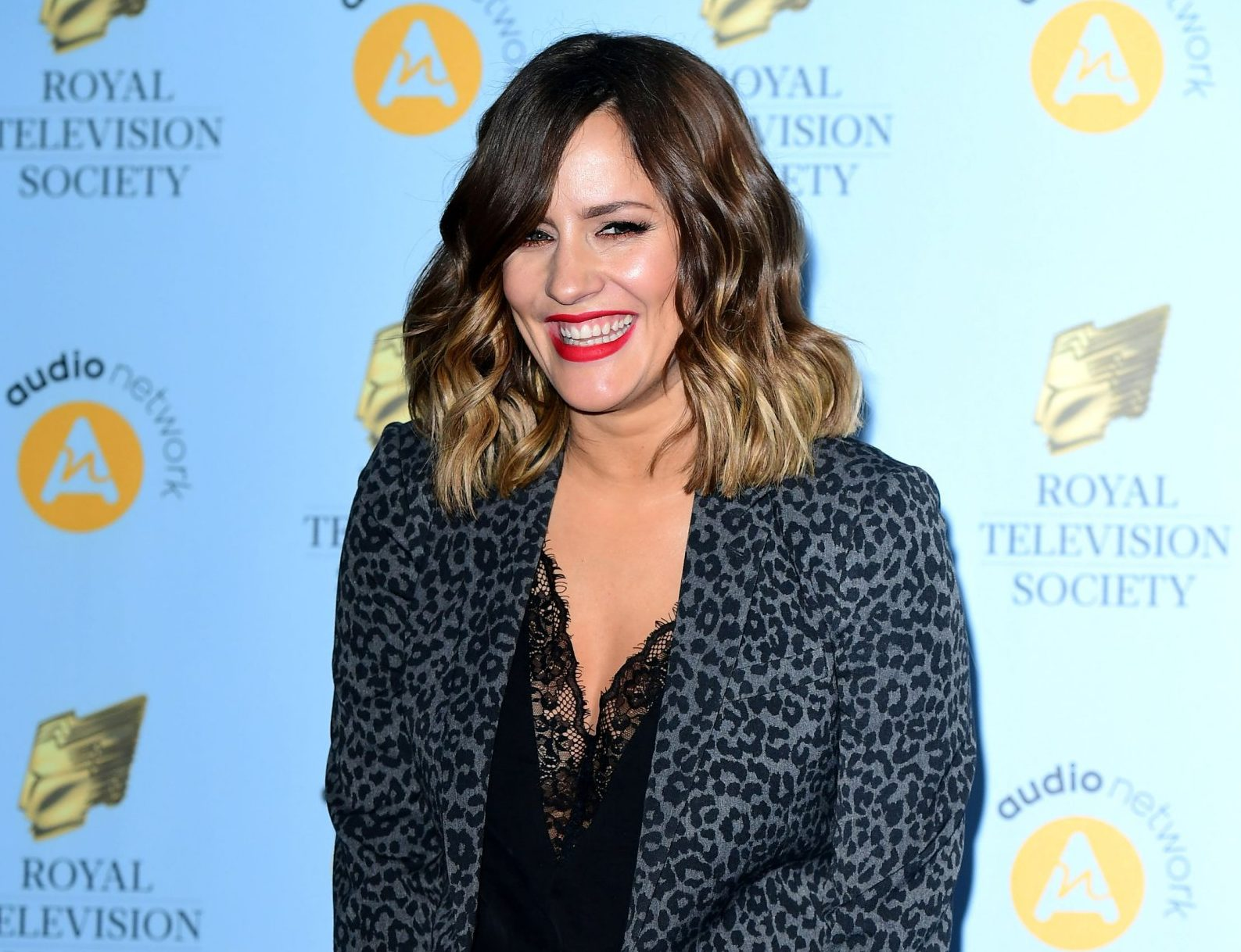 Caroline Flack attending the Royal Television Society Programme Awards at Grosvenor House Hotel, Park Lane, London. PRESS ASSOCIATION Photo. Picture date: Tuesday 20th March, 2018. Photo credit should read: Ian West/PA Wire