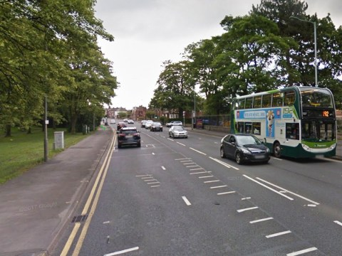 Pies on the road spark severe delays in Stockport