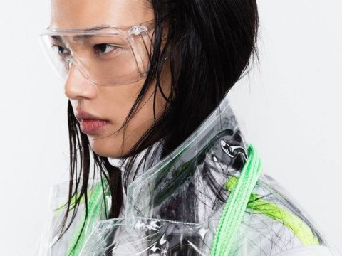 This brand is selling safety goggles as a legit fashion accessory