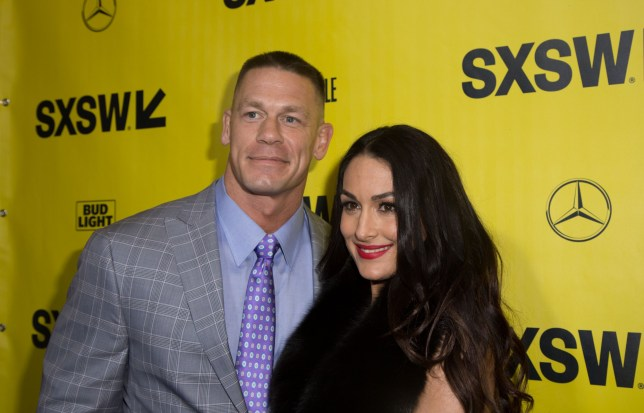 Mandatory Credit: Photo by Tara Mays/Variety/REX/Shutterstock (9454228am) John Cena and Nikki Bella 'Blockers' film premiere, SXSW Festival, Austin, USA - 10 Mar 2018
