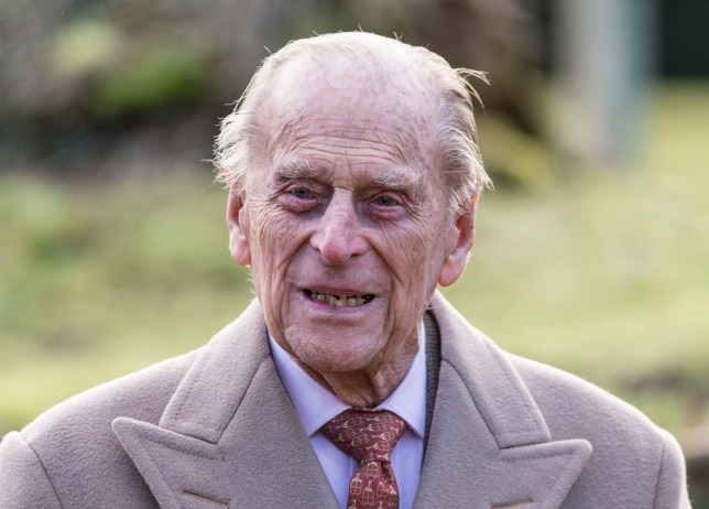 KING'S LYNN, ENGLAND - FEBRUARY 04: Prince Philip, Duke of Edinburgh attends Sunday Service at St Peter and St Paul Church in West Newton on February 4, 2018 in King's Lynn, United Kingdom. (Photo by Mark Cuthbert/UK Press via Getty Images)