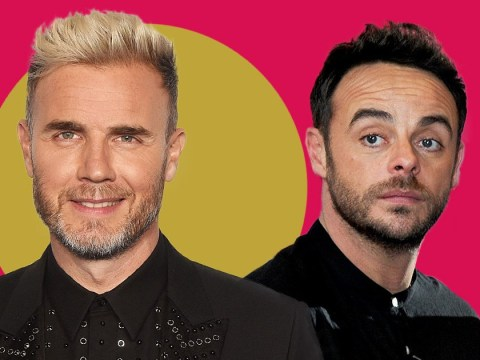 Gary Barlow shows support for Ant McPartlin and compares his situation to Robbie Williams
