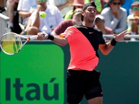 Roger Federer conqueror Thanasi Kokkinakis crashes out after fiery Fernando Verdasco row
