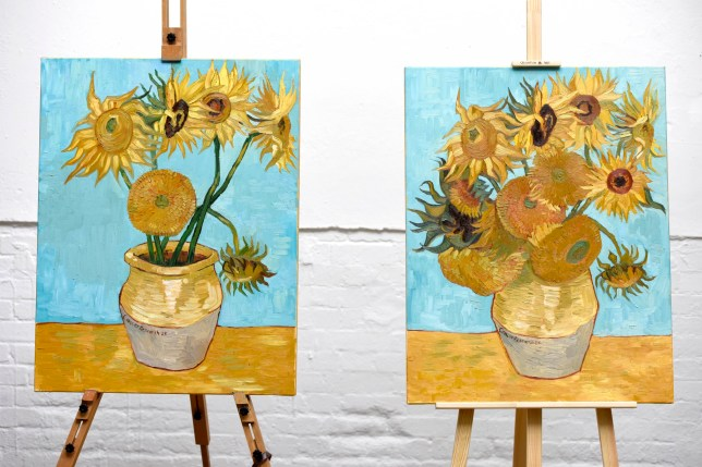 Cancer Research have commissioned an artist to paint a version of Van Gogh?s Sunflowers, with a third removed, to represent that Legacy gifts fund over a third of the charity?s research.