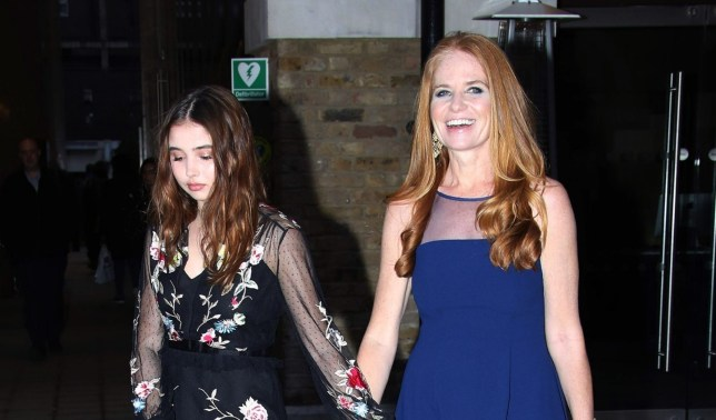 Patsy Palmer back in the UK as she brings 16-year-old