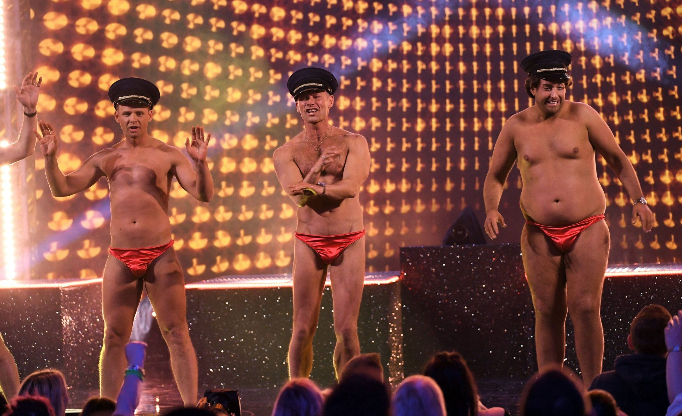 Male The Real Full Monty stars 'paid £10k each for stripping off'
