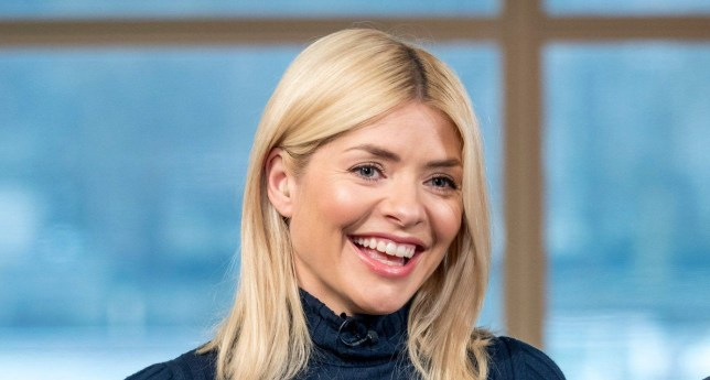 EDITORIAL USE ONLY. NO MERCHANDISING Mandatory Credit: Photo by Ken McKay/ITV/REX/Shutterstock (9478881ci) Holly Willoughby 'This Morning' TV show, London, UK - 27 Mar 2018