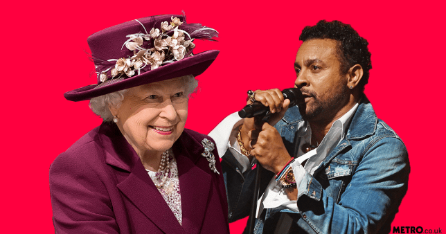The Queen will hear about Shaggy 'butt naked bangin' on the sofa' as he performs at birthday do REXq