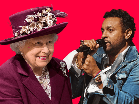 The Queen will hear about Shaggy 'butt naked bangin' on the sofa' as he performs at birthday do
