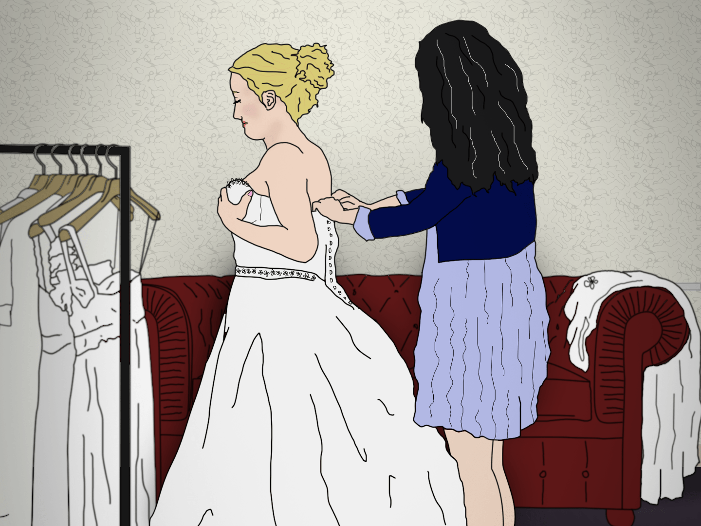 **ILLUSTRATION REQUEST** X mistakes I've already made while planning my wedding - 500 words (Abby)