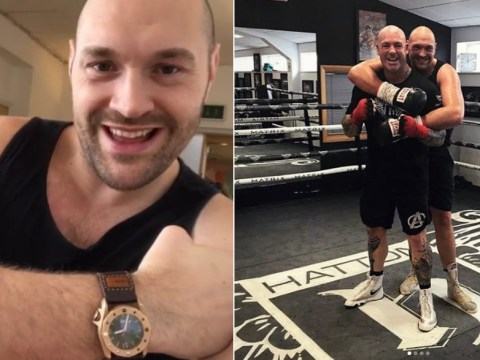 Tyson Fury back in sparring for first time in over a year ahead of comeback