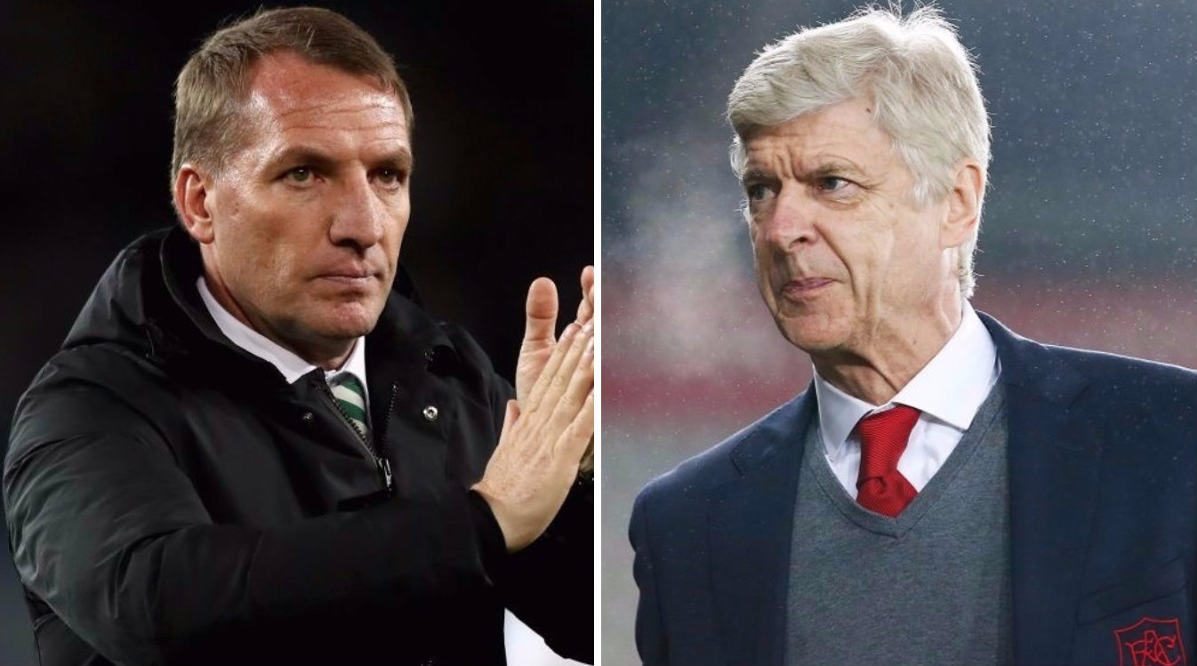 Brendan Rodgers responds to rumours that he could replace Arsene Wenger at Arsenal
