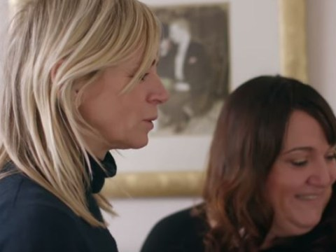 Zoe Ball chokes back tears as she meets woman whose son took his own life aged just 19