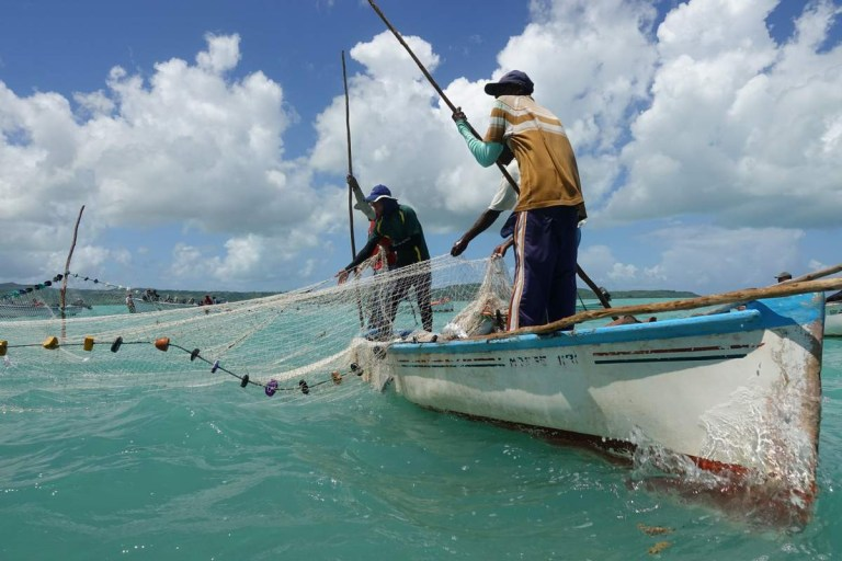 Seine Fishing in the Rodrigues Lagoon Photo Credit: EatCookExplore