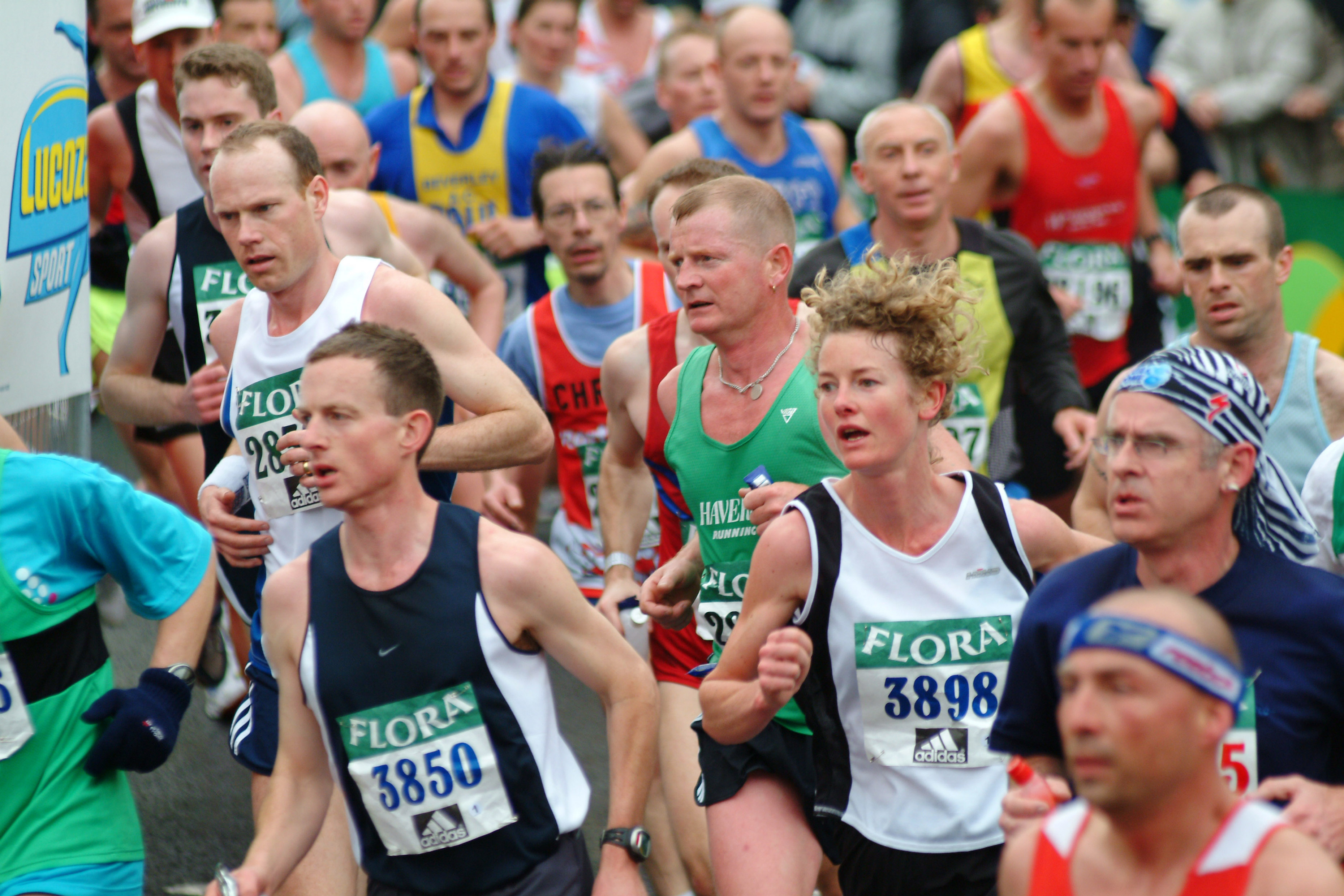 Why do they have pacers in the London Marathon?