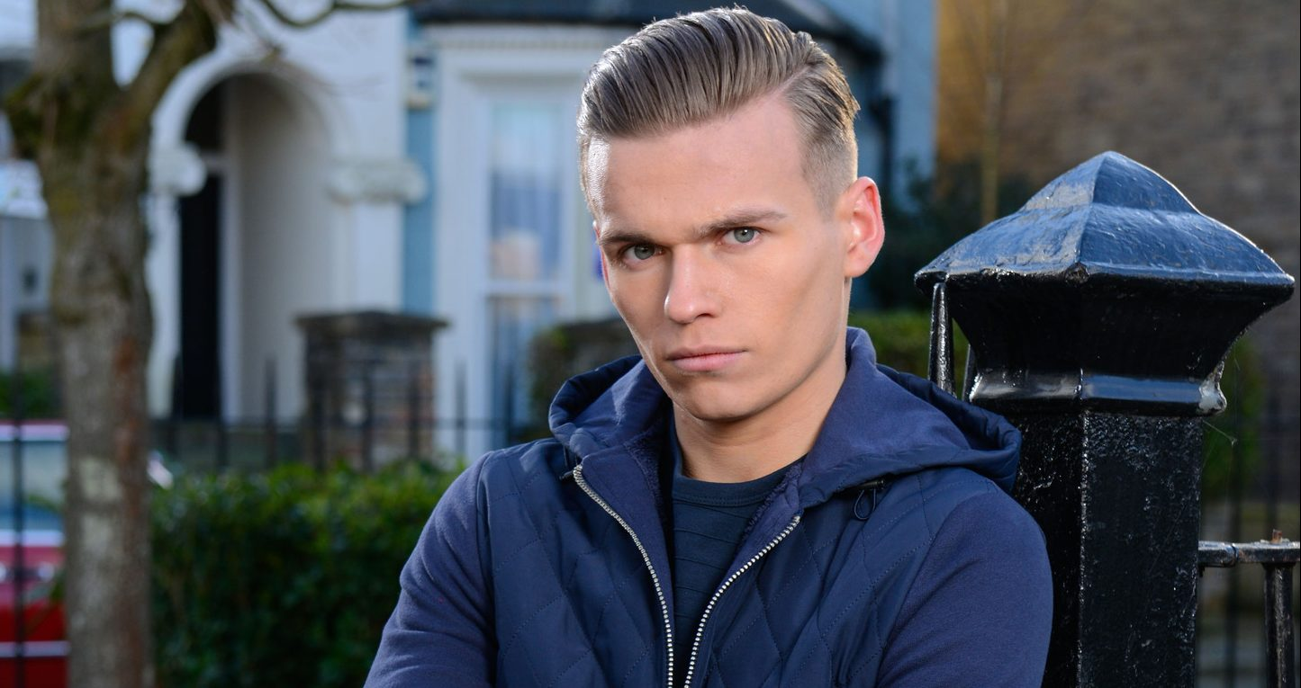 Hunter has a dark side in EastEnders