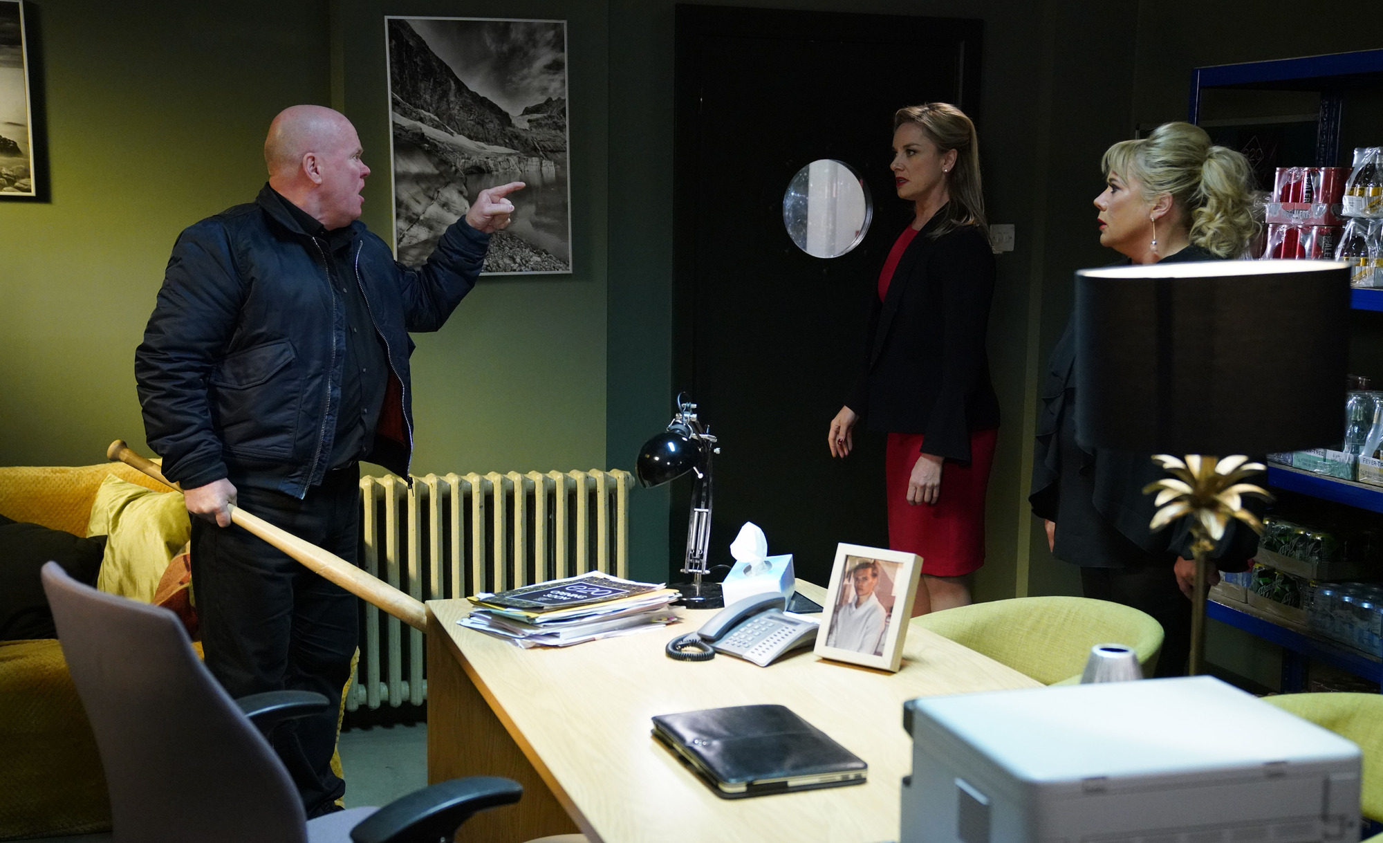 Phil is on the attack in EastEnders