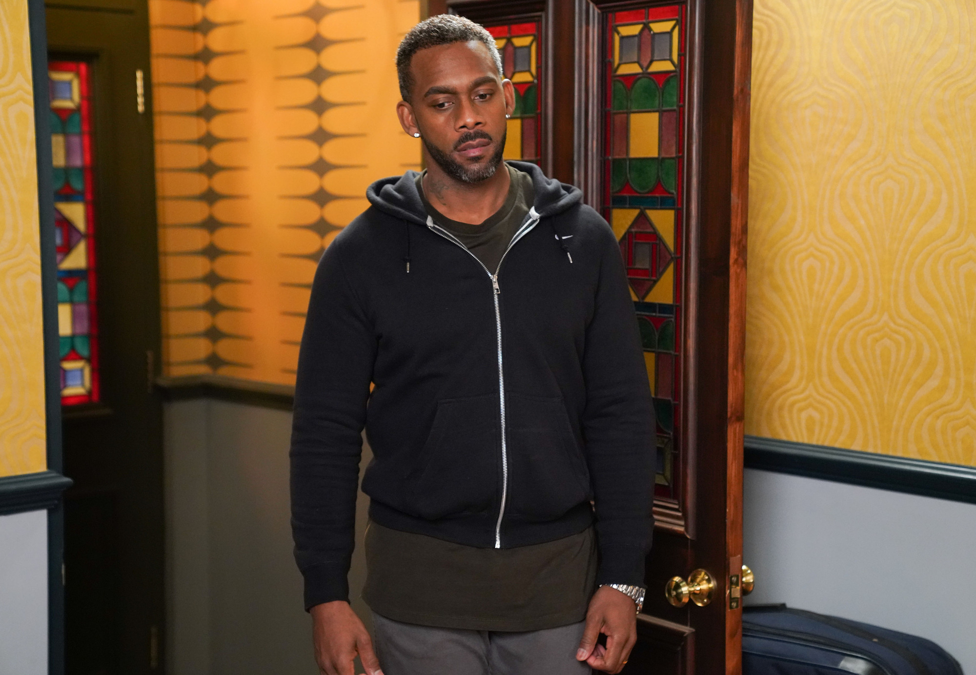 Who did Richard Blackwood play in EastEnders and will he return?
