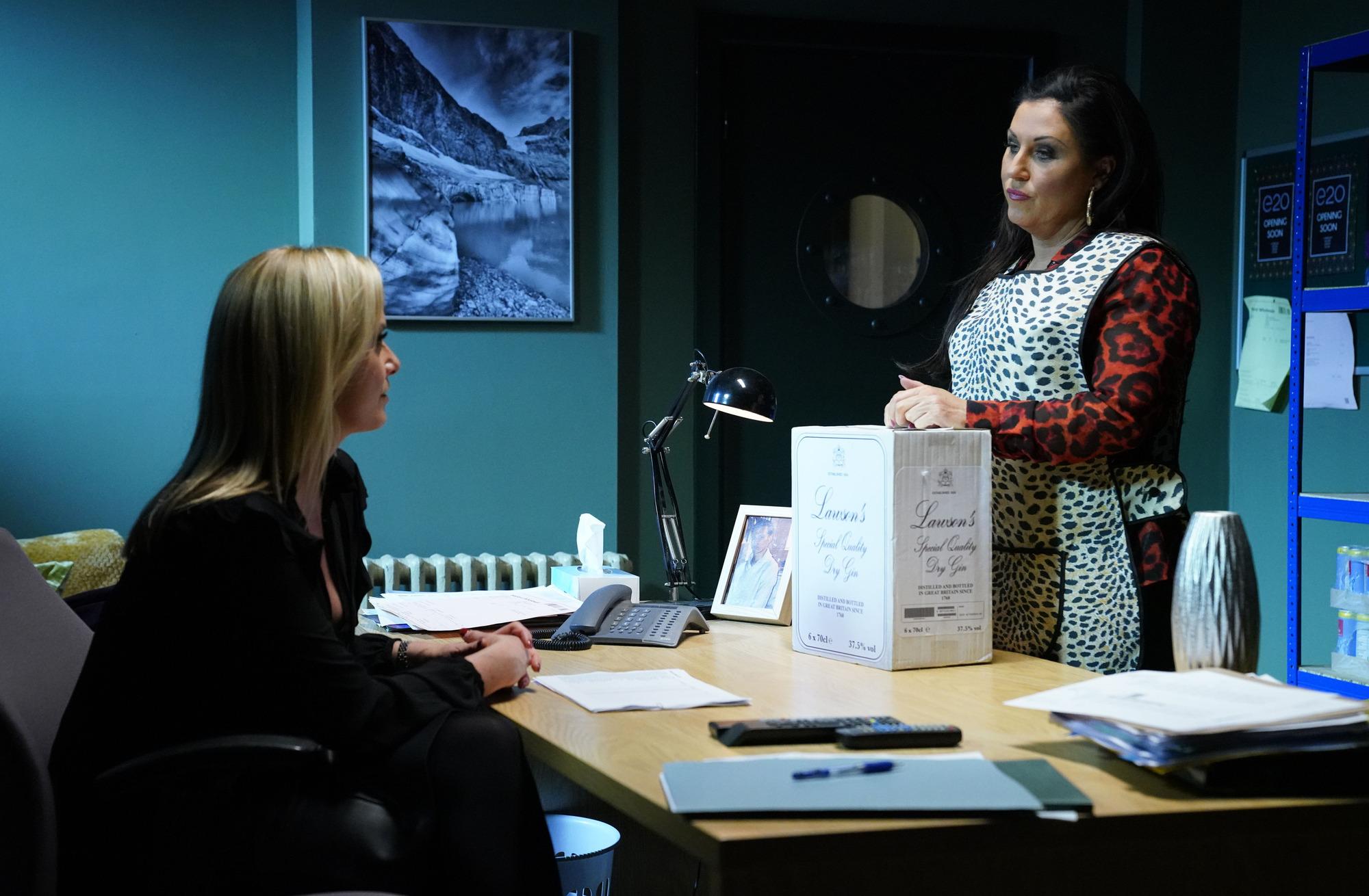 EastEnders spoilers: Kat Moon commits crimes against Mel Owen and Linda Carter
