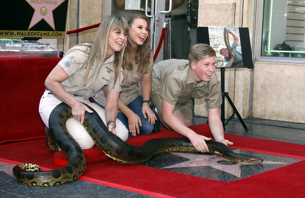 Aussie wildlife legend Steve Irwin remembered with star on Hollywood Walk of Fame