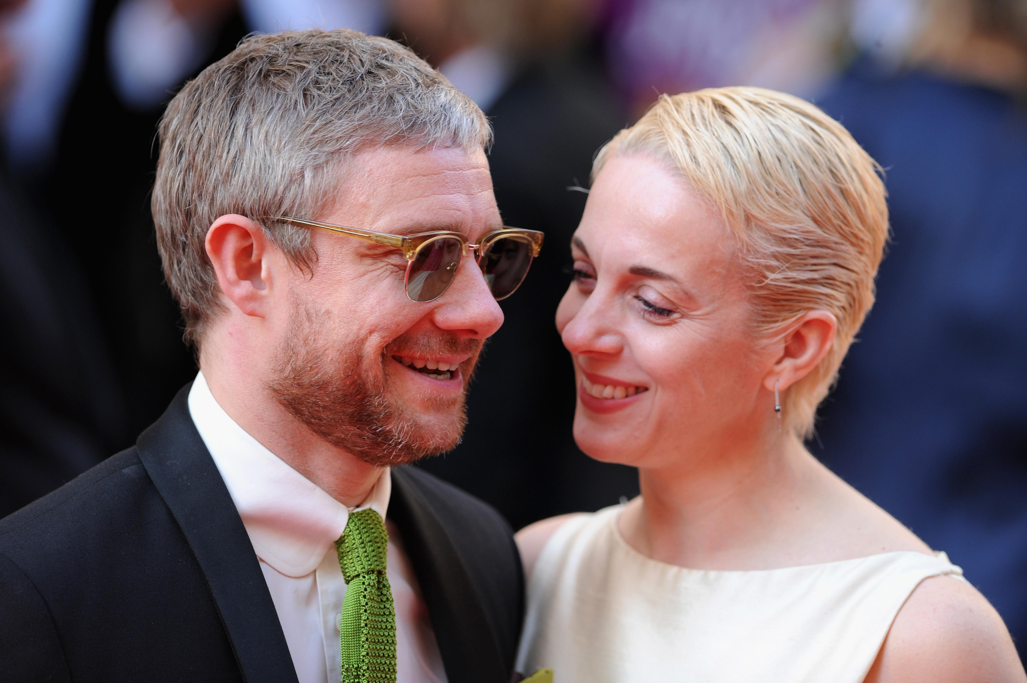 Amanda Abbington reveals heartache over Martin Freeman split and why they kept it secret for six months
