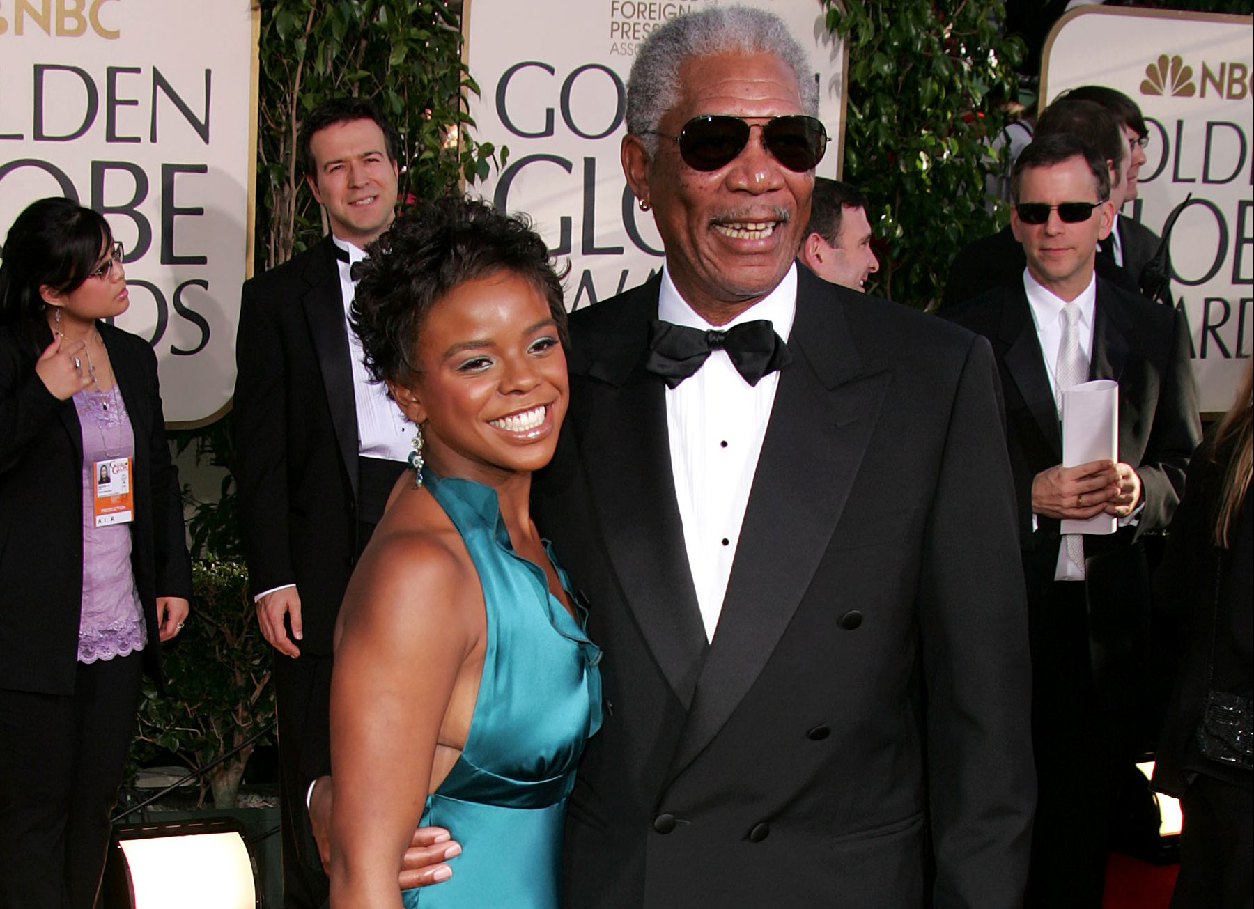 Morgan Freeman 'had sexual relationship with step-granddaughter' alleges man on trial for her murder