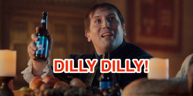 What does Dilly Dilly mean in the Bud Light adverts? | Metro News