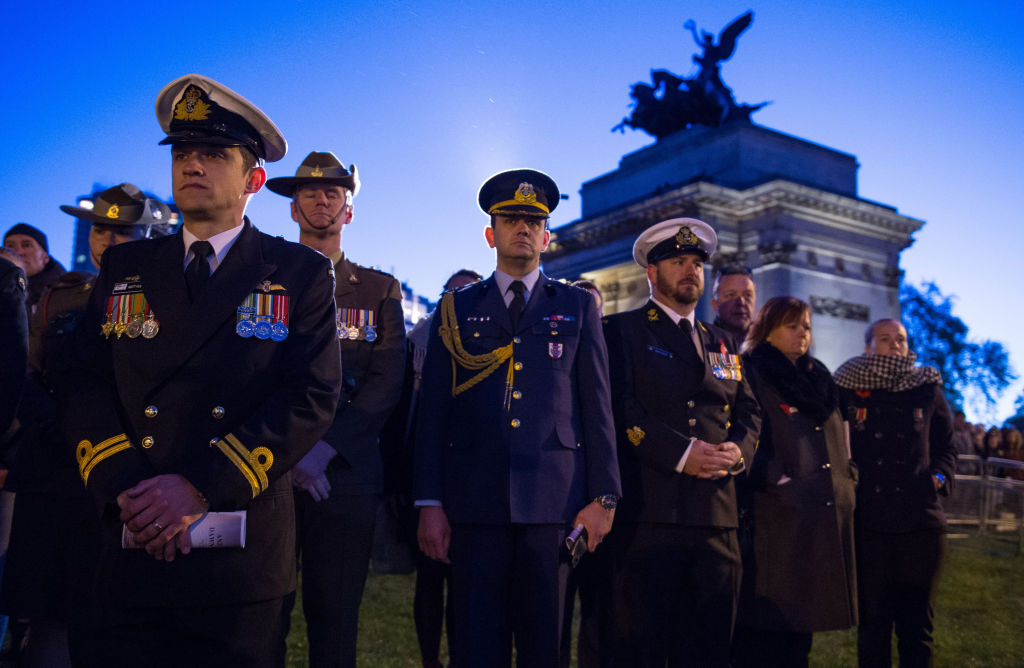 Where is the Anzac Day dawn service in London 2018 and what time will it be?