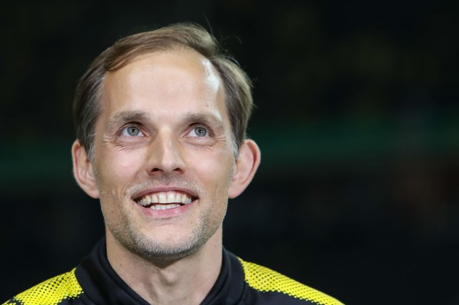 BERLIN, GERMANY - MAY 27: Head coach Thomas Tuchel of Dortmund looks on during the DFB Cup final match between Eintracht Frankfurt and Borussia Dortmund at Olympiastadion on May 27, 2017 in Berlin, Germany. (Photo by TF-Images/Getty Images)