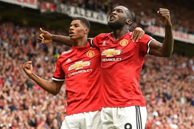 Marcus Rashford and Romelu Lukaku