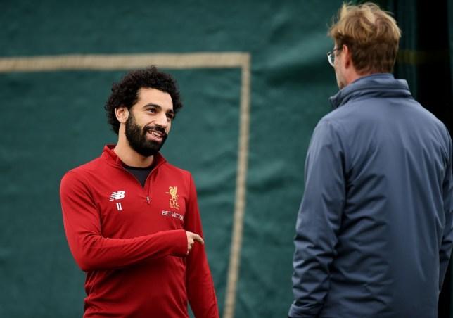 f54b17894a7 Jurgen Klopp says Mohamed Salah 'feels at home' at Liverpool despite Real  Madrid interest