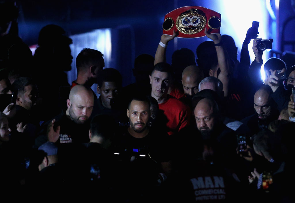James DeGale relinquishes IBF title and promises big news is coming
