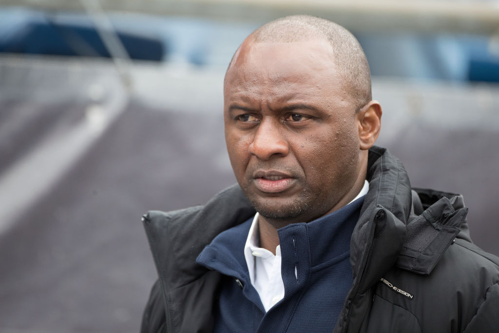 Patrick Vieira 'flattered' by speculation he could replace Arsene Wenger at Arsenal