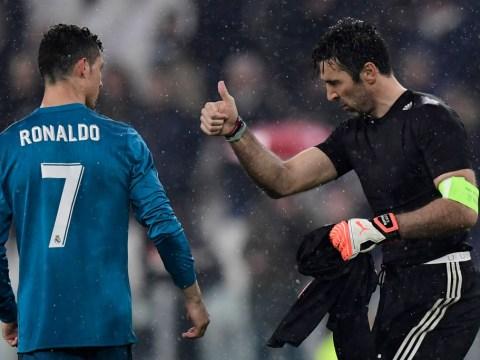 Gianluigi Buffon compares Cristiano Ronaldo to Diego Maradona and Pele after Champions League wonder goal