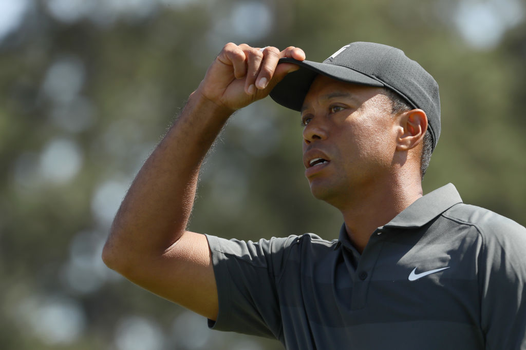Tiger Woods assesses his opening round performance at The Masters