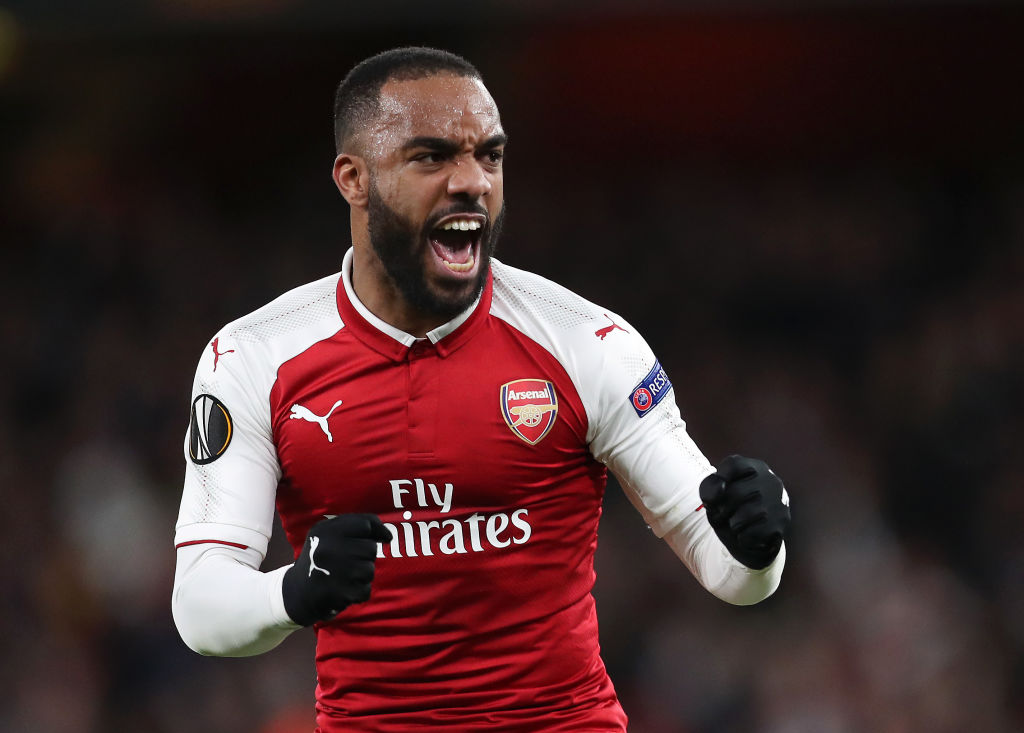 Alexandre Lacazette reveals what him and Thierry Henry discuss in their regular personal chats