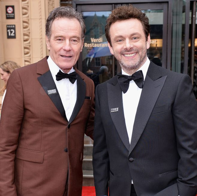Bryan Cranston and Michael Sheen