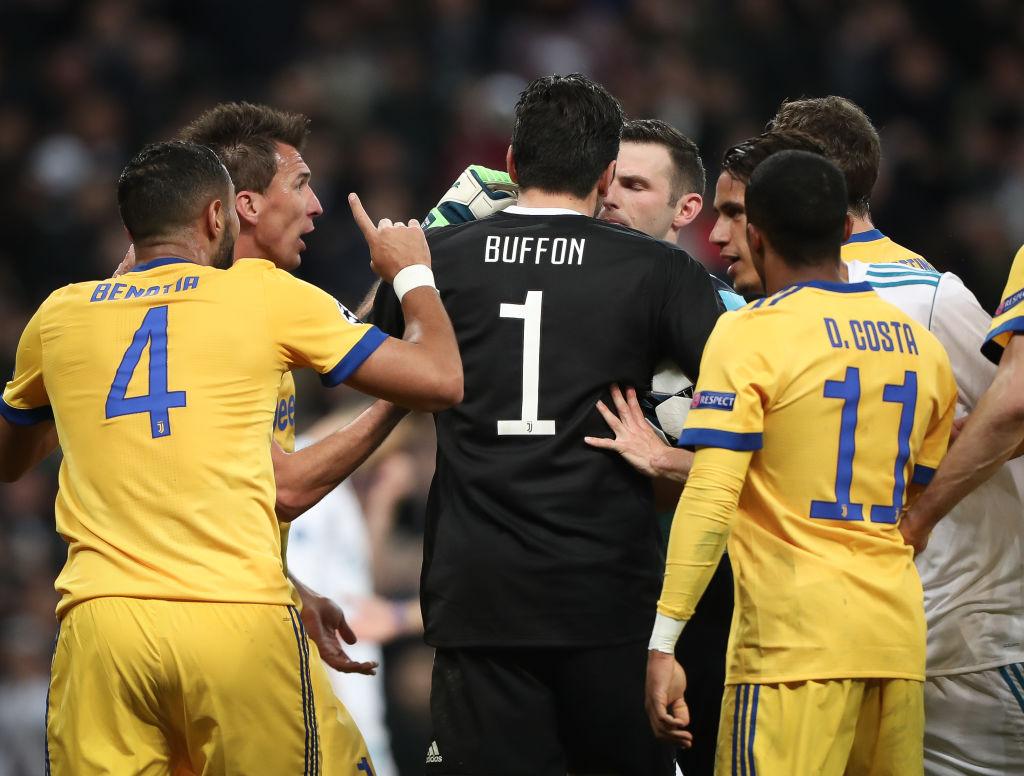 Gianluigi Buffon slammed by Juventus legend Alessandro Del Piero for attack on Michael Oliver after Real Madrid meltdown