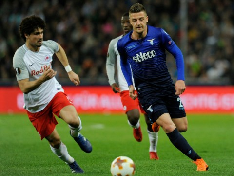 Manchester United scouts watch Sergej Milinkovic-Savic and Lazio crash out of Europa League
