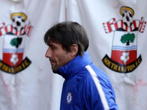 Antonio Conte tore into 's***' Chelsea players during Southampton clash