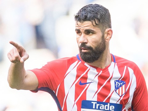 Diego Costa included in Atletico Madrid's squad to face Arsenal at the Emirates