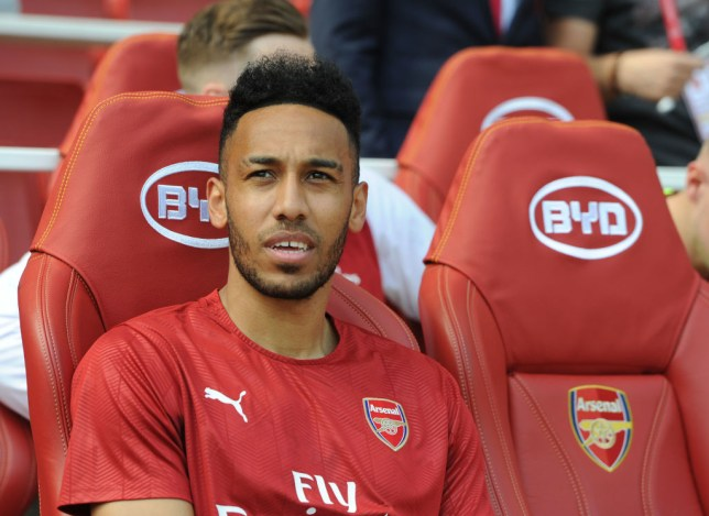 fb4f18576 Pierre-Emerick Aubameyang started on the bench against West Ham (Picture   Getty)