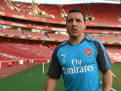 Santi Cazorla targeting Arsenal first-team return THIS season after 18 months out