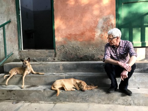 Paul O'Grady's love of dogs almost killed him after he contracted virus petting a pup in India