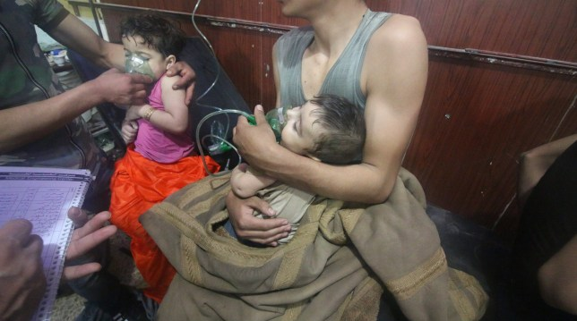 500 people were poisoned in Syria chemical attack, WHO reveals