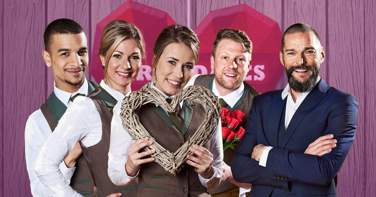 Fred Sirieix and the First Dates staff